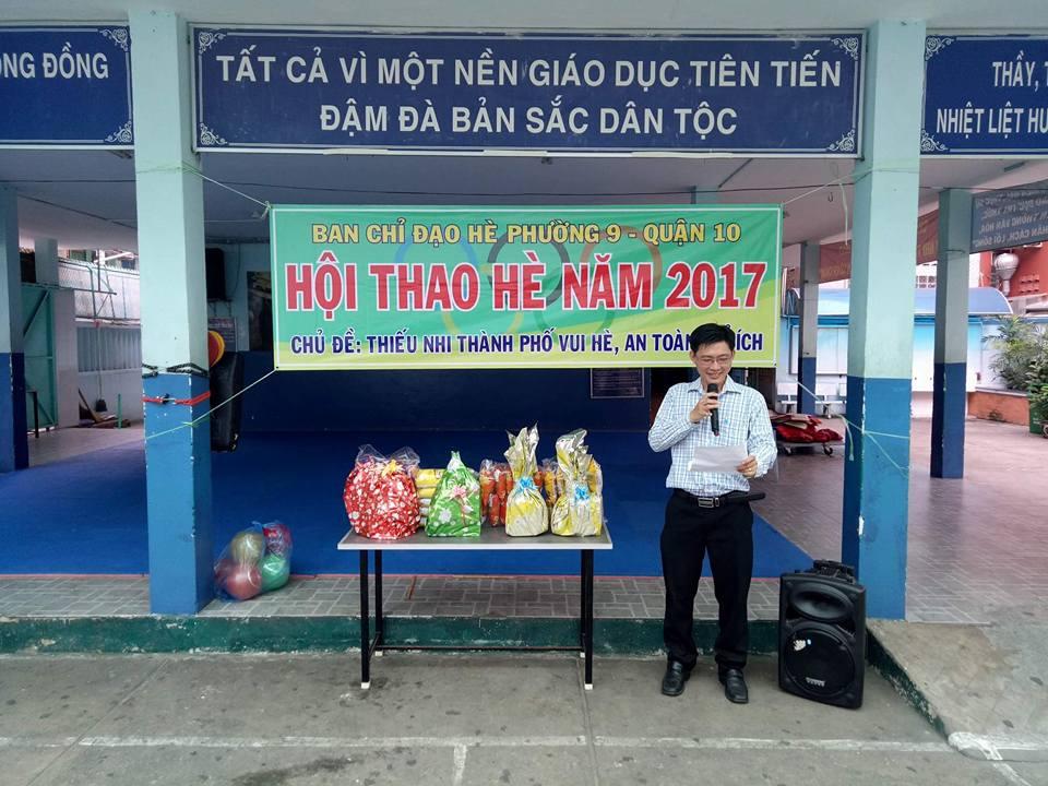Hội thao hè Phường 9 năm 2017