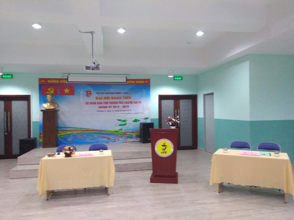 Phường 14: Đại hội Đoàn viên Chi đoàn giáo viên điểm nhiệm kỳ 2018 - 2019