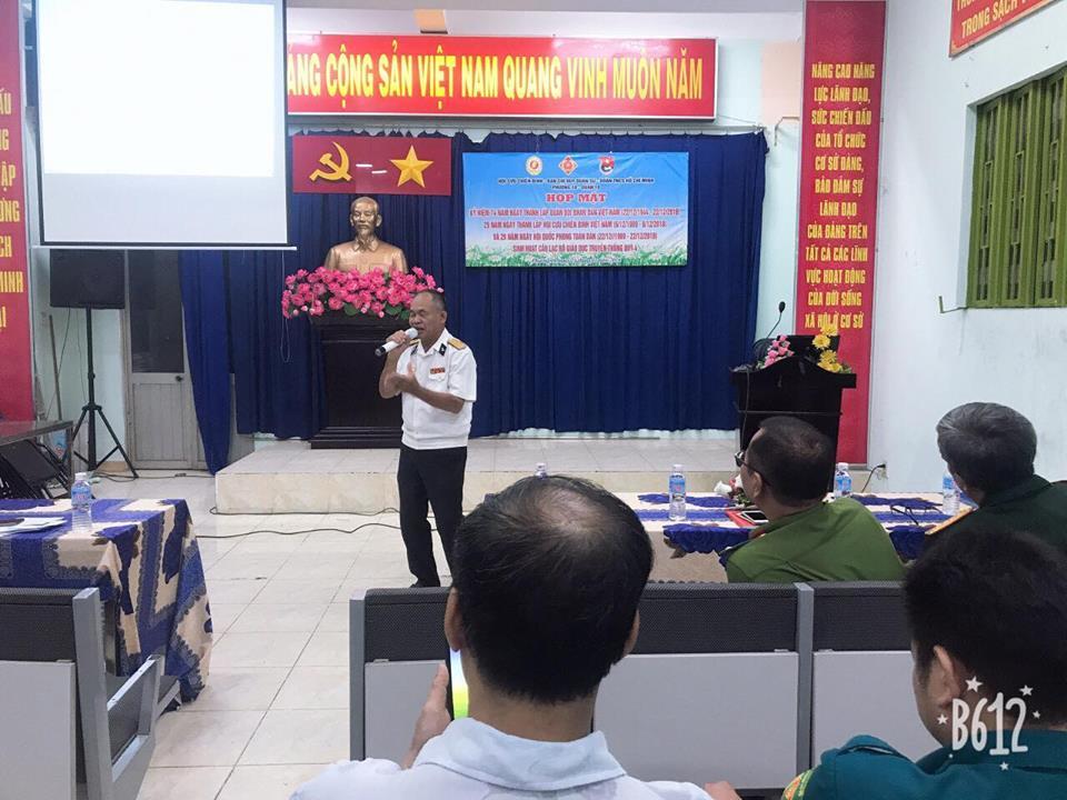 Chào mừng kỷ niệm 74 năm ngày thành lập Quân Đội nhân dân Việt Nam (22/12/1944-22/12/2018) 29 năm ngày thành lập Hội Cựu Chiến Binh ( 6/12/1989-6/12/2