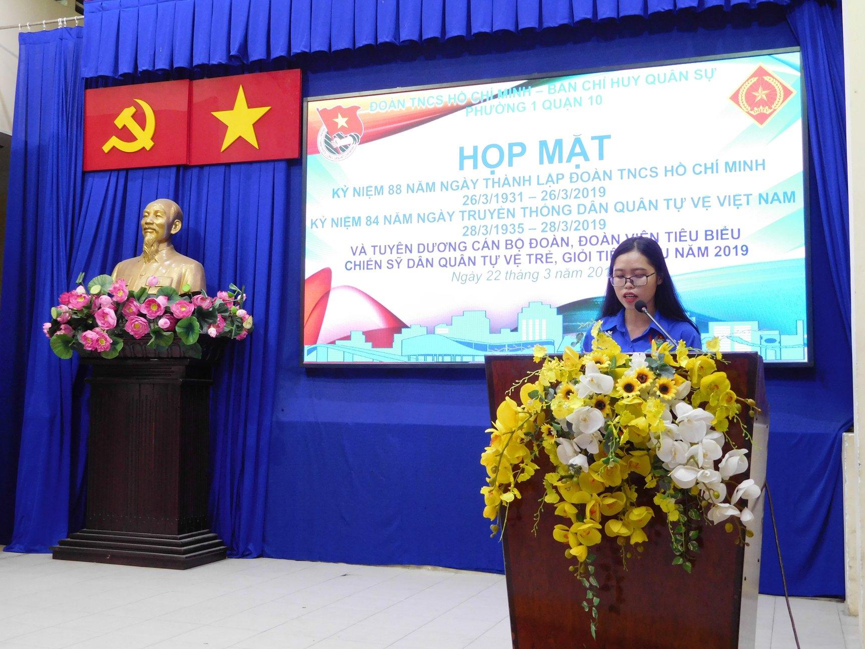 Phường 1 - Chương trình Kỷ niệm 88 năm ngày thành lập Đoàn TNCS Hồ Chí Minh