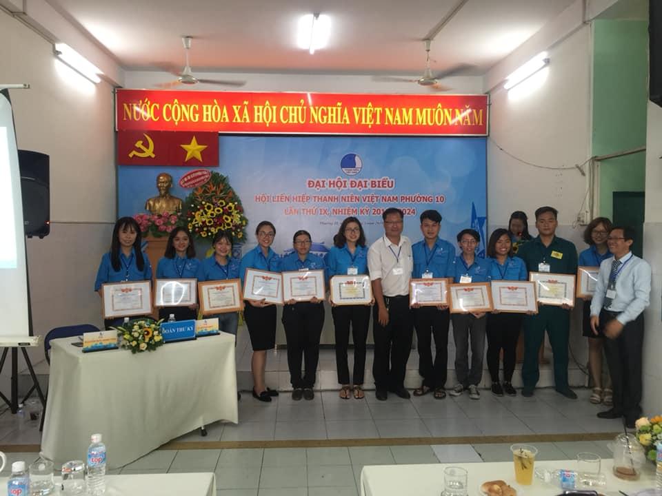 Phường 10: Tổ chức Đại hội Hội LHTN Việt Nam Phường 10 lần thứ IX nhiệm kỳ 2019-2024