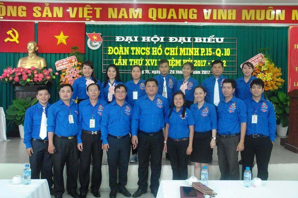 Phường 15 - Đại hội Đại biểu Đoàn TNCS Hồ Chí Minh phường 15 lần thứ XVI, nhiệm kỳ (2017 – 2022)
