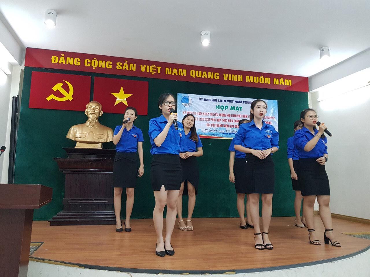 Phường 5 - Lễ kỷ niệm 62 năm ngày thành lập Hội LHTN Việt Nam 15/10