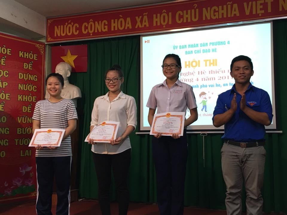 Phường 4 - Hội thi văn nghệ thiếu nhi Hè năm 2017