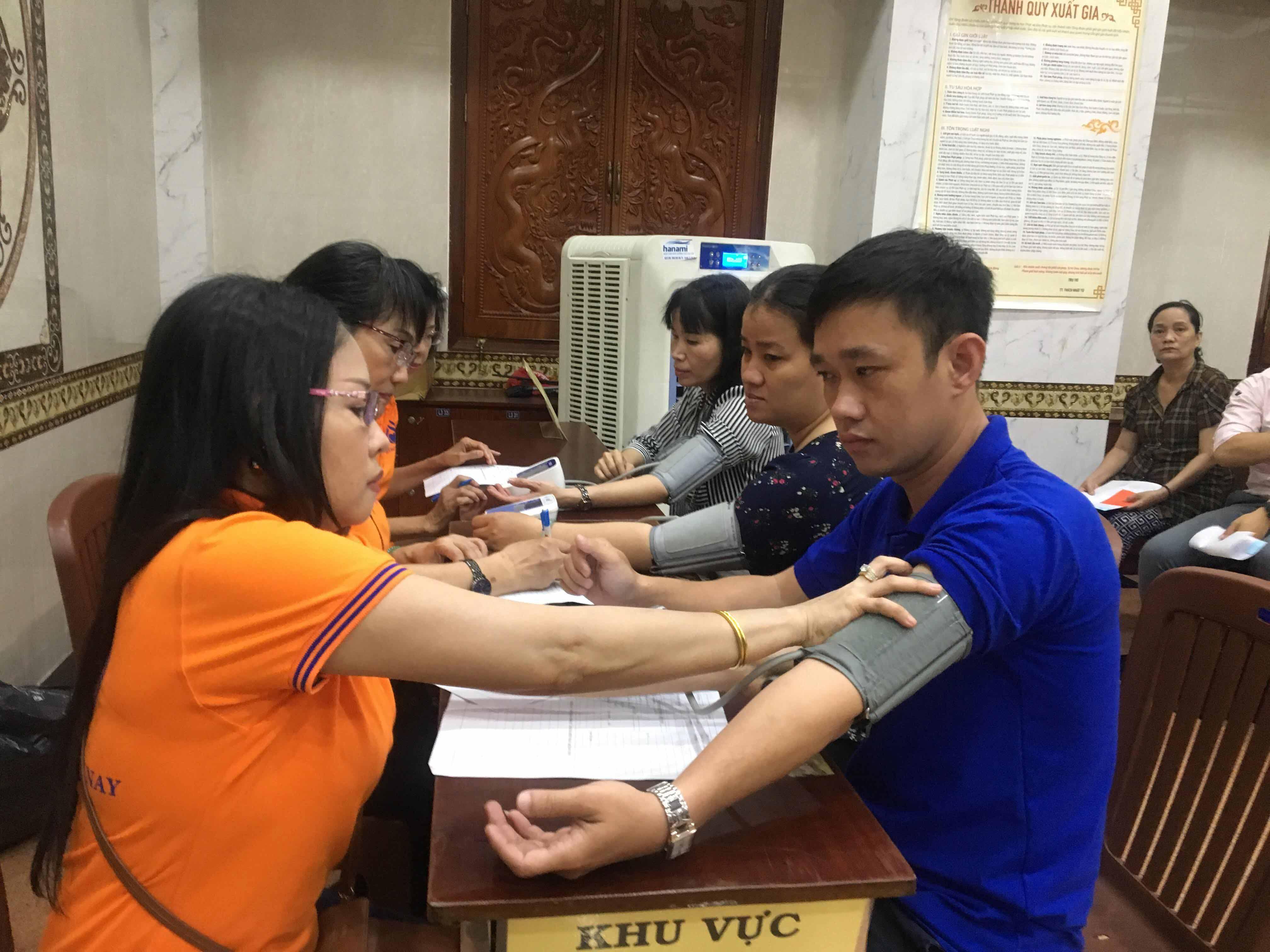 Phường 3: Chương trình Hiến máu nhân đạo