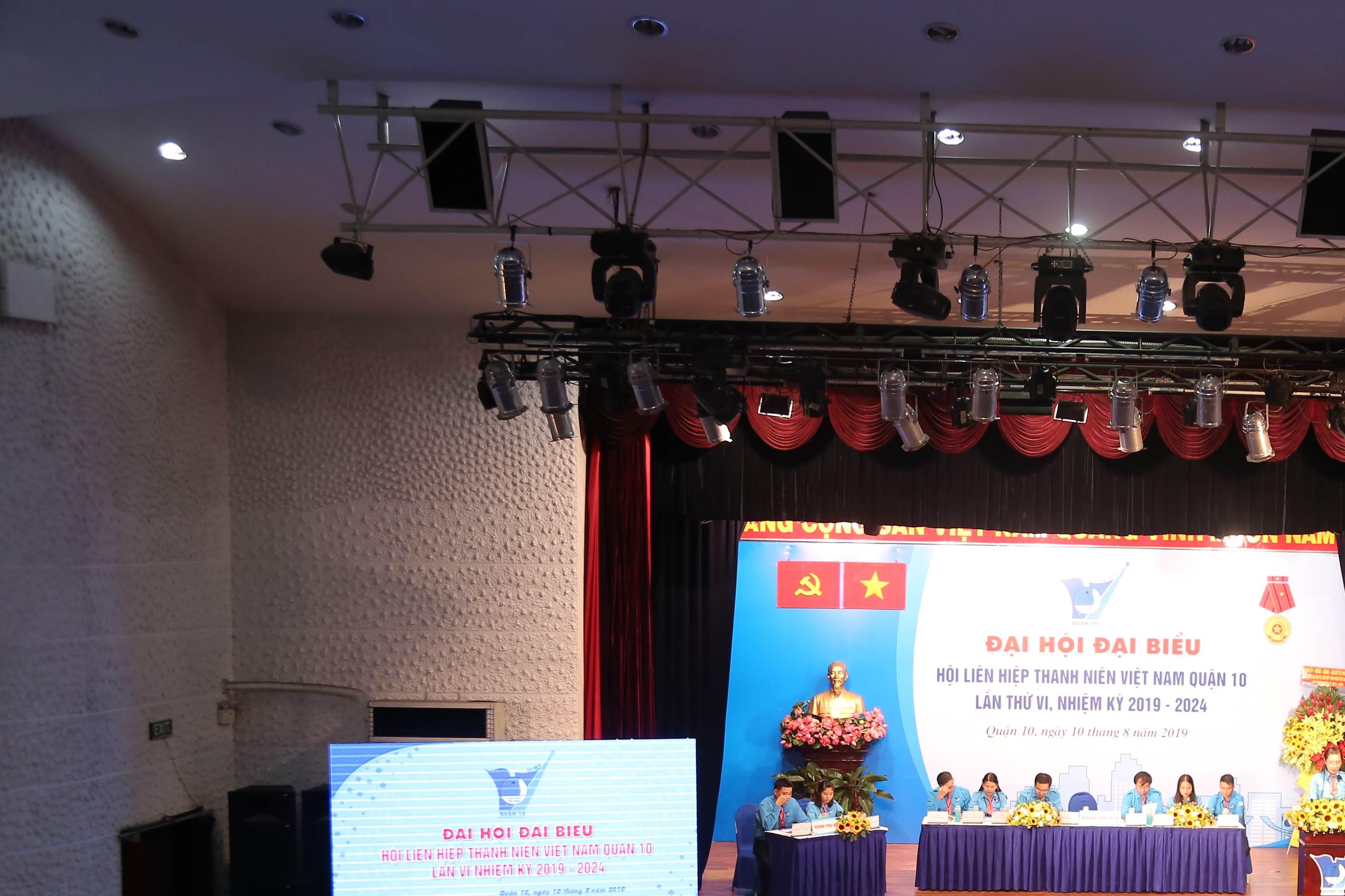 Đại hội Đại biểu Hội Liên hiệp Thanh niên Việt Nam Quận 10, lần VI nhiệm kỳ 2019 - 2024