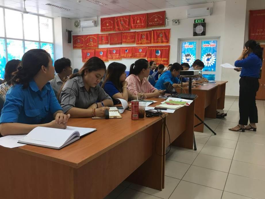 Quận 10: Sinh hoạt Câu lạc bộ Phó bí thư Đoàn Phường Quý IV năm 2019