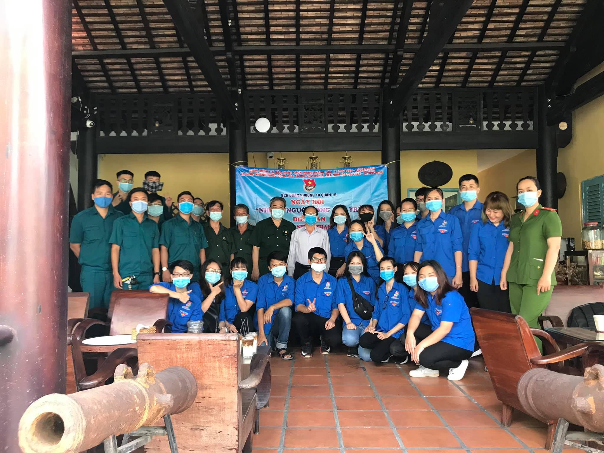 """Đoàn TNCS Hồ Chí Minh Phường 10 phối hợp với Hội Cựu Chiến binh Phường 10 tổ chức ngày hội """"Những người cộng sản trẻ"""""""