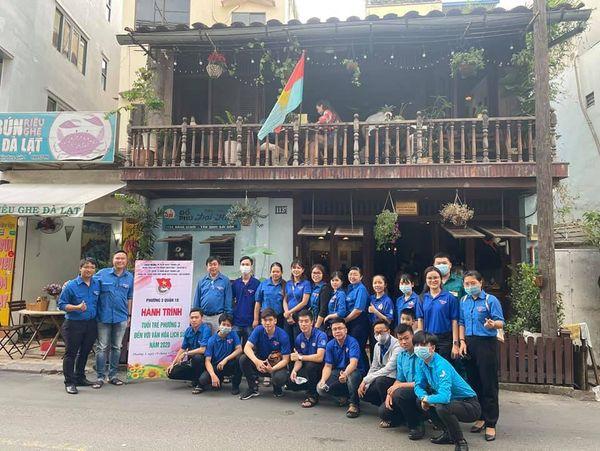 """Tuổi trẻ Phường 3 hành trình đến với """"văn hóa lịch sử"""" tại các địa điểm di tích Bảo tàng Biệt động Sài Gòn"""