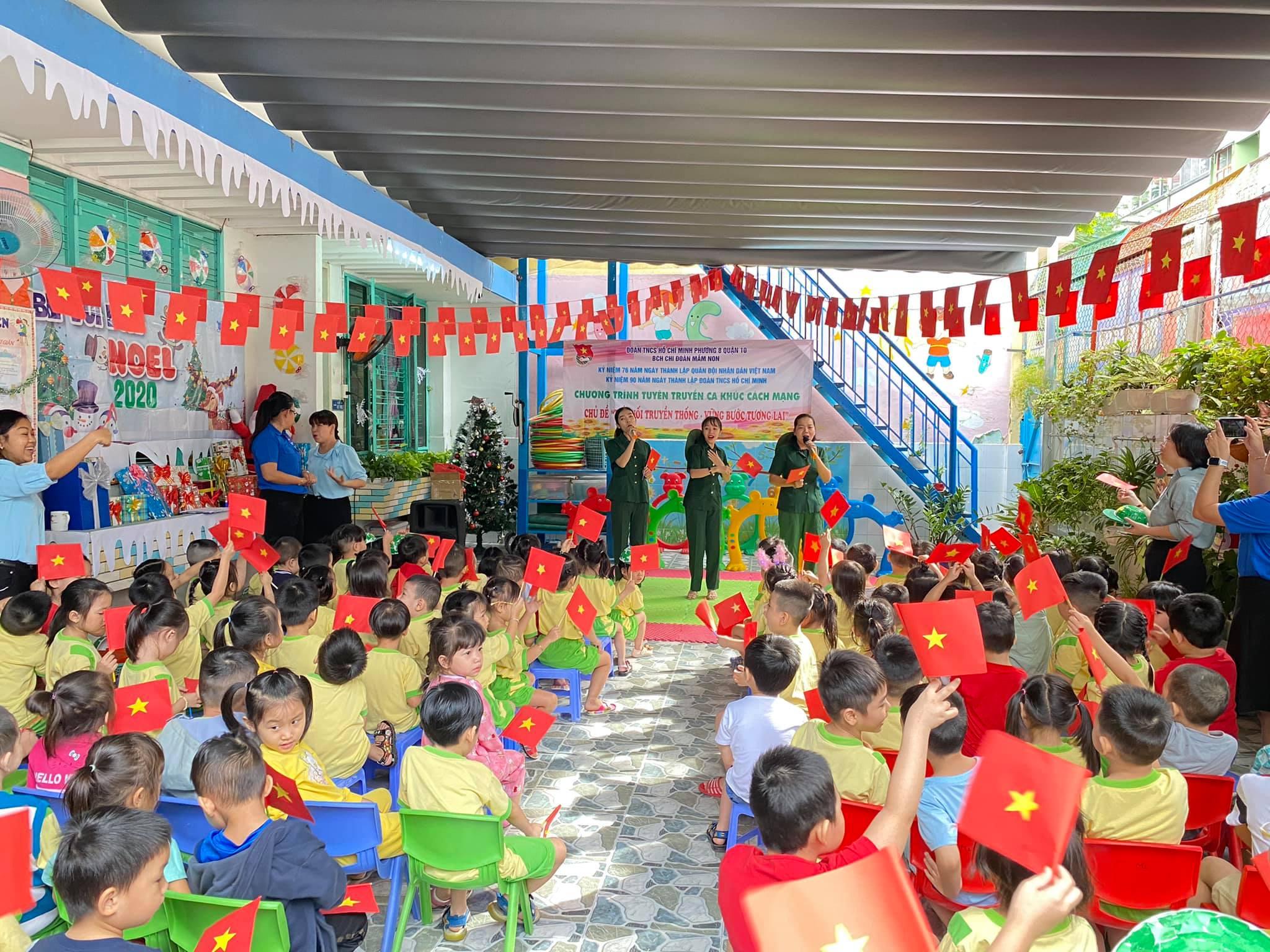 Phường 8 tổ chức chương trình Tuyên Truyền Ca Khúc Cách Mạng