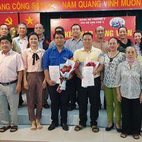 Lễ kết nạp Đảng cho quần chúng ưu tú Lê khả Hoành - Phó Bí thư Đoàn Phường 3, Quận 10