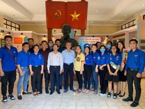 Đoàn TNCS Hồ Chí Minh Phường 10, Quận 10 tổ chức chương trình giao lưu một thời tuổi trẻ