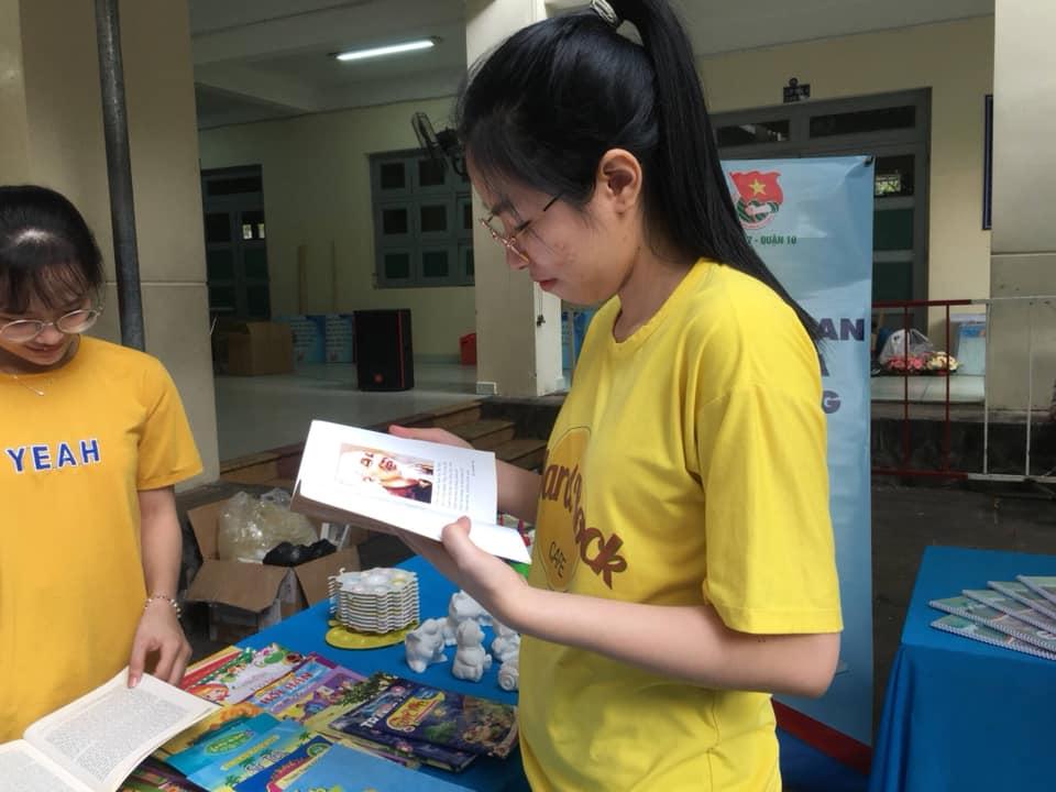 Tu bổ lại không gian văn hóa đọc tại Phường 7