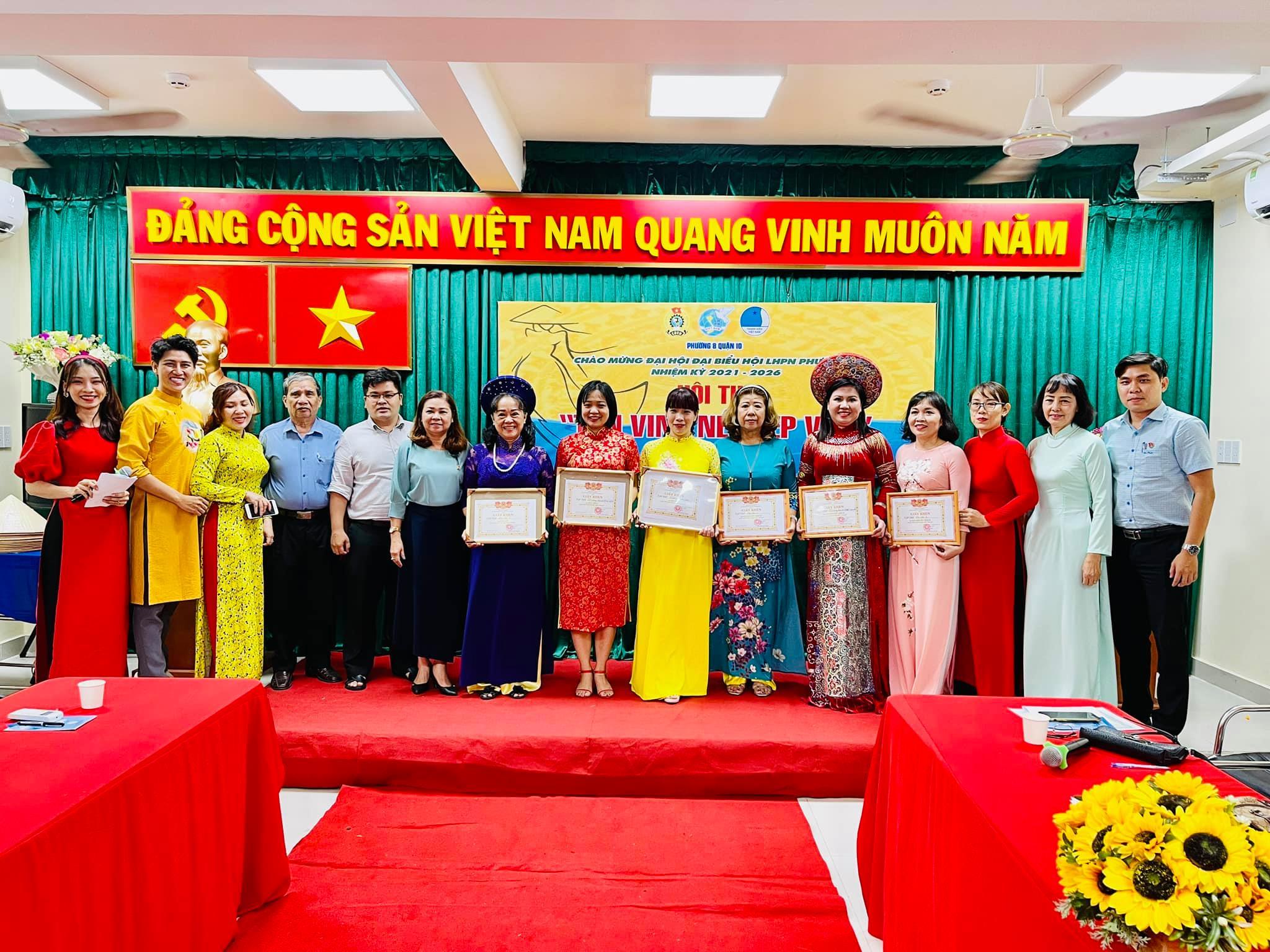 """Phường 8 tổ chức hội thi """"Tôn vinh Nét đẹp Việt"""""""